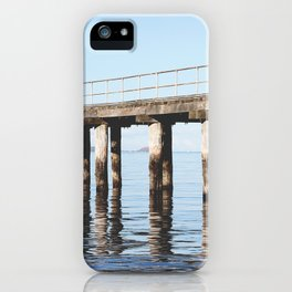 Reflecting on life. iPhone Case