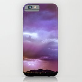 Discordant Scintillation iPhone Case