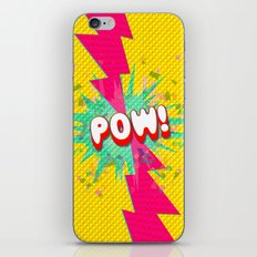 POW! iPhone & iPod Skin