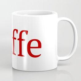 Caffe - Deep Learning Framework Coffee Mug