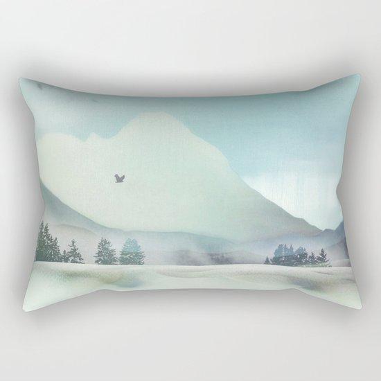 Winter Hunt Rectangular Pillow
