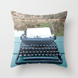 Darling Throw Pillow