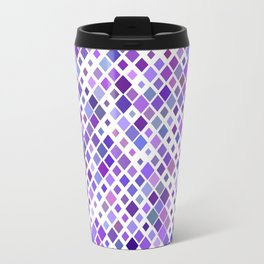 Purple Squared Travel Mug