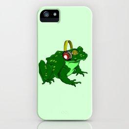 Bullfrog iPhone Case