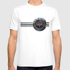 Ford Torino GT 380 MEDIUM White Mens Fitted Tee