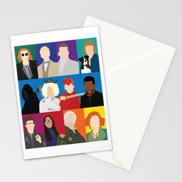 Good Omens Stationery Cards