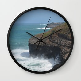 Kauai Seascape Wall Clock