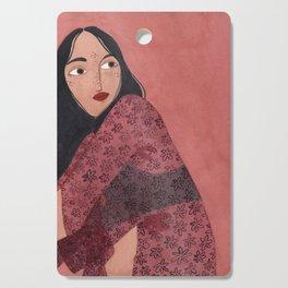 Transparent Kimono Cutting Board
