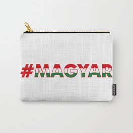 # Hashtag Magyar Carry-All Pouch