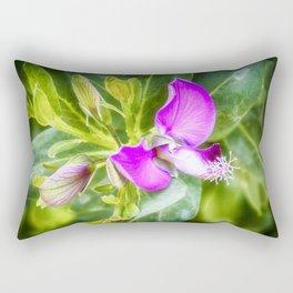 Purple flower Rectangular Pillow