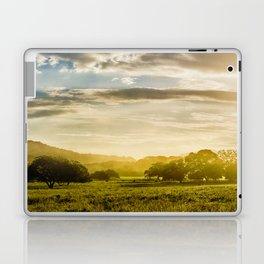 Sunrise over the farm Laptop & iPad Skin