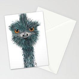 Derek the Emu Stationery Cards