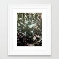 megan lara Framed Art Prints featuring Lara by Renee Pahlisch