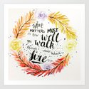 """Charles Bukowski quote """"What matters most is how well you walk through fire."""" by wordsmakeart"""