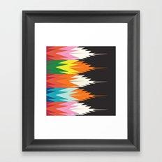American Native Pattern No. 8 Framed Art Print