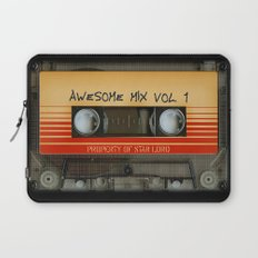 Awesome transparent mix cassette tape volume 1 iPhone 4 4s 5 5c 6, pillow case, mugs and tshirt Laptop Sleeve