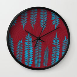 Nature's Symmetry  Wall Clock