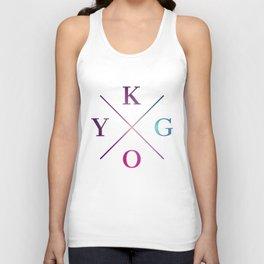 Kygo - Blue Violet Color Unisex Tank Top