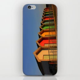 Blyth Beach Huts iPhone Skin