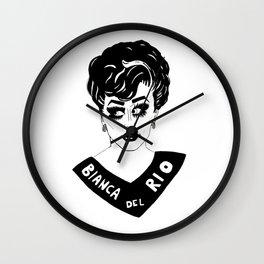 BIANCA DEL RIO Wall Clock
