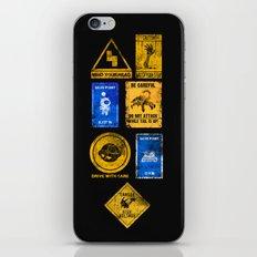 USEFUL SIGNS iPhone & iPod Skin