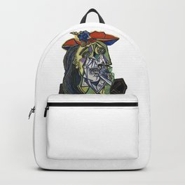 picasso weeping woman Backpack