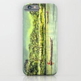 Situ Gunung National Park West Java Indonesia Edit iPhone Case