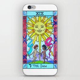 The Sun - Tarot iPhone Skin