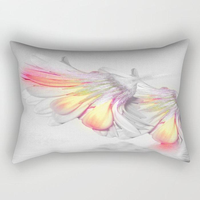 Gerbera Style Rectangular Pillow