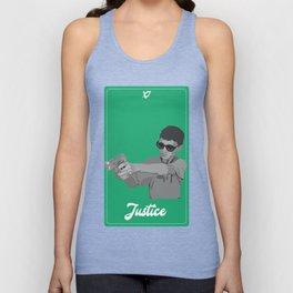 Justice Vine Tarot Unisex Tank Top