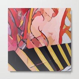 Abstract 100 #6 Metal Print