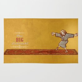 This rug ties the room together… The dude The big Lebowski  Rug