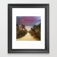 Hurricane Irene Framed Art Print