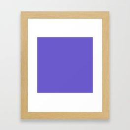 Slate Blue Framed Art Print