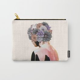 Flowers Bloom, Mind Drips Out Carry-All Pouch