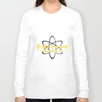 bazinga Long Sleeve T-shirts featuring BAZINGA Big Bang by junaputra