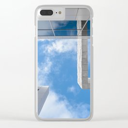 trough the getty Clear iPhone Case