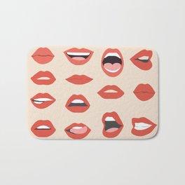 Lips III Bath Mat