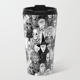 Horror Film Monsters Travel Mug
