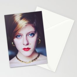 The Golden Lady. Stationery Cards