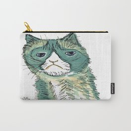 One Grumpy Kitty  Carry-All Pouch