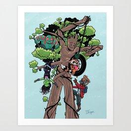 KinderGuardians Art Print