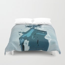 Jazzy Poster Duvet Cover
