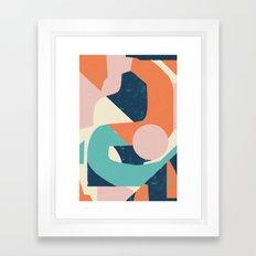 Dreamy Reactions Framed Art Print