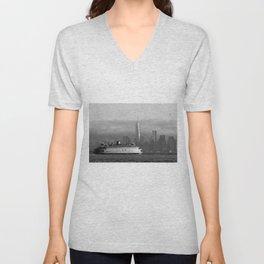 Ferry & Freedom Tower Unisex V-Neck