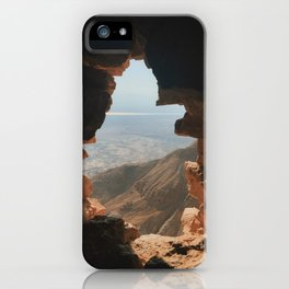 Masada Scenic View iPhone Case
