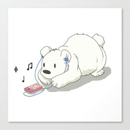 Polar Beats Canvas Print