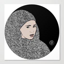 Sana sun Canvas Print