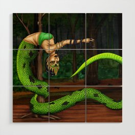 Pole Creatures: Nagi Wood Wall Art