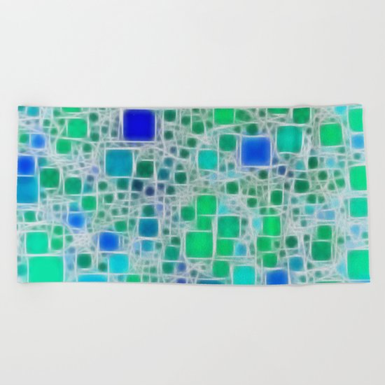 Ceramics Ocean Beach Towel